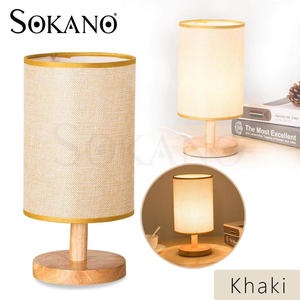 SOKANO YS006 Wooden Table Lamp Dream Lighting Soft Night Light Side Table Lamp Gift Lampu Meja Lampu Katil