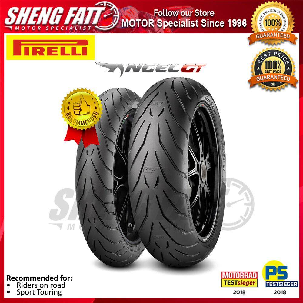 PIRELLI ANGEL GT MOTORCYCLE TYRE (TOURING TIRE) : 120/70 ZR17 - 190/55 ZR17