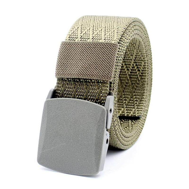 Luxury Smart N4 Automatic Buckle Canvas Belt