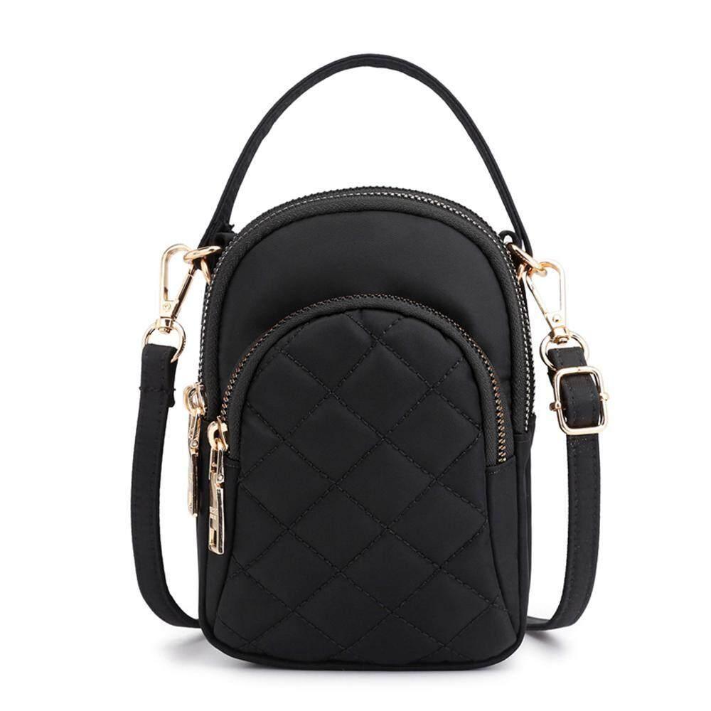 40d3779604ee Oaken Nylon Small Crossbody Shoulder Bags Stylish Handbag Cell Phone Purse  Wallet For Women Girls