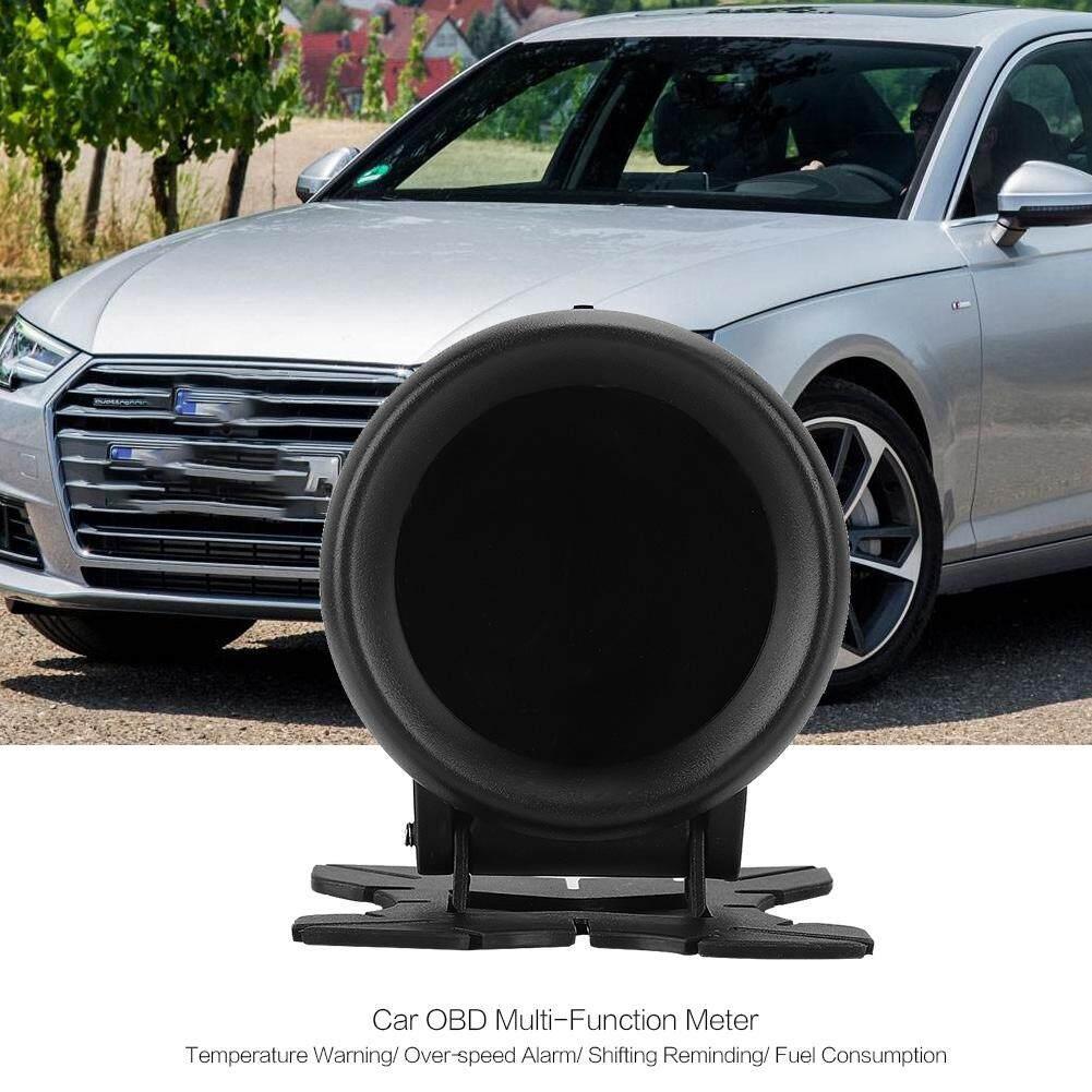 Car Lights - Car Speed Display Meter Digital Temperature Gauge OBD Voltage Multi-Function
