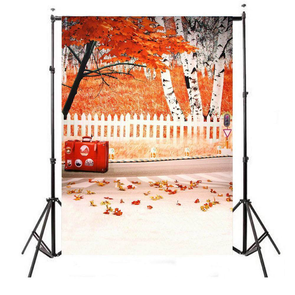 4.9 x 6.5ft Studio Photography Background Backdrop Cloth Anti-winkle Solid Paper - WHITE WOOD TEXTURE / METAL TEXTURE / BLUE WOOD TEXTURE / GALAXY / OUTSIDE THE WINDOW / STREETSCAPE CARTOON / AUTUMN LEAVES / LITTLE ELEPHANT / LITTLE BEAR