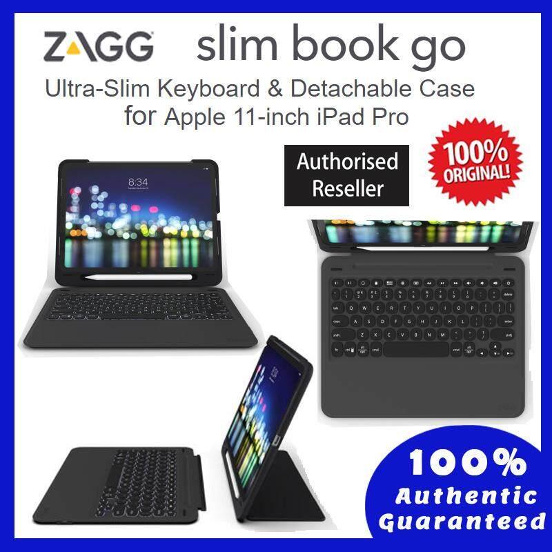 Apple-iPad Pro 11 Inch - Original ZAGG-Keyboard Case - Slim Book Go