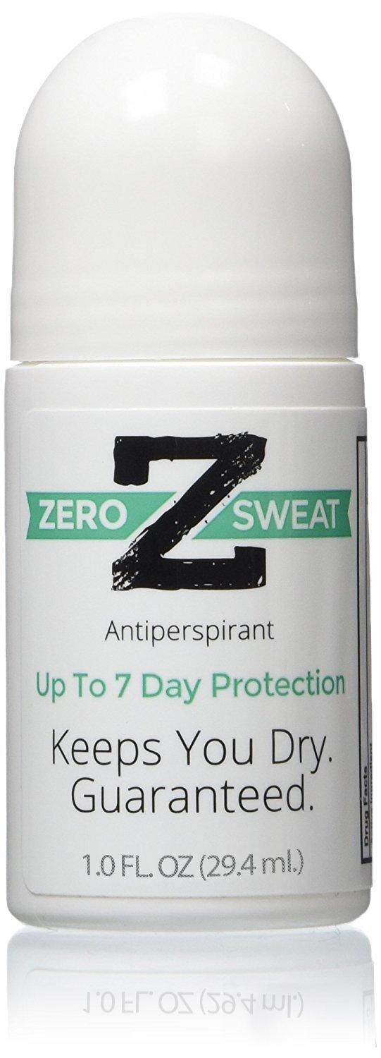ZeroSweat Antiperspirant Deodorant  Clinical Strength Hyperhidrosis Treatment - Stops Armpits from Sweating