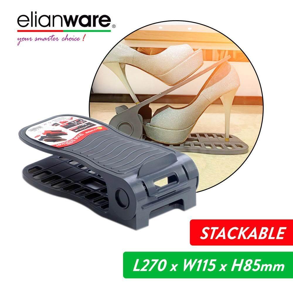 Elianware Stackable Shoe Rack (27cm) Rak Kasut
