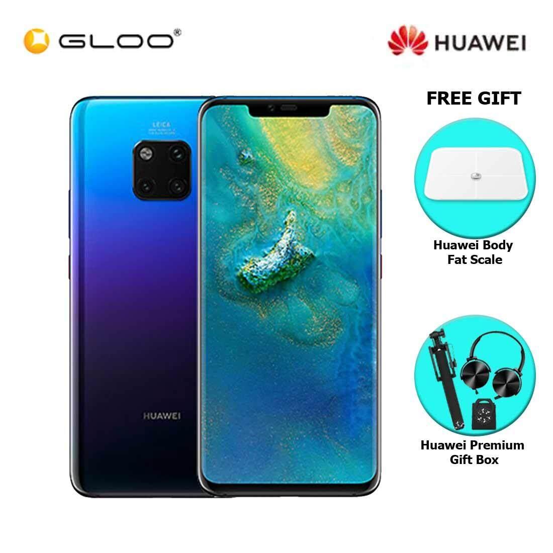 Huawei Mate 20 Pro 6GB+128GB Twilight + FREE Huawei Body Fat Scale 6901443198375,Premium Gift Box (Headset/Selfie Stick/iRing)