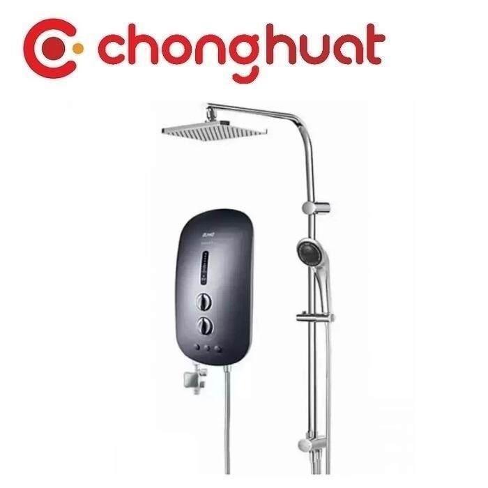 Alpha SMART 18I PLUS Inverter DC Pump Water Heater with Rain Shower - Black