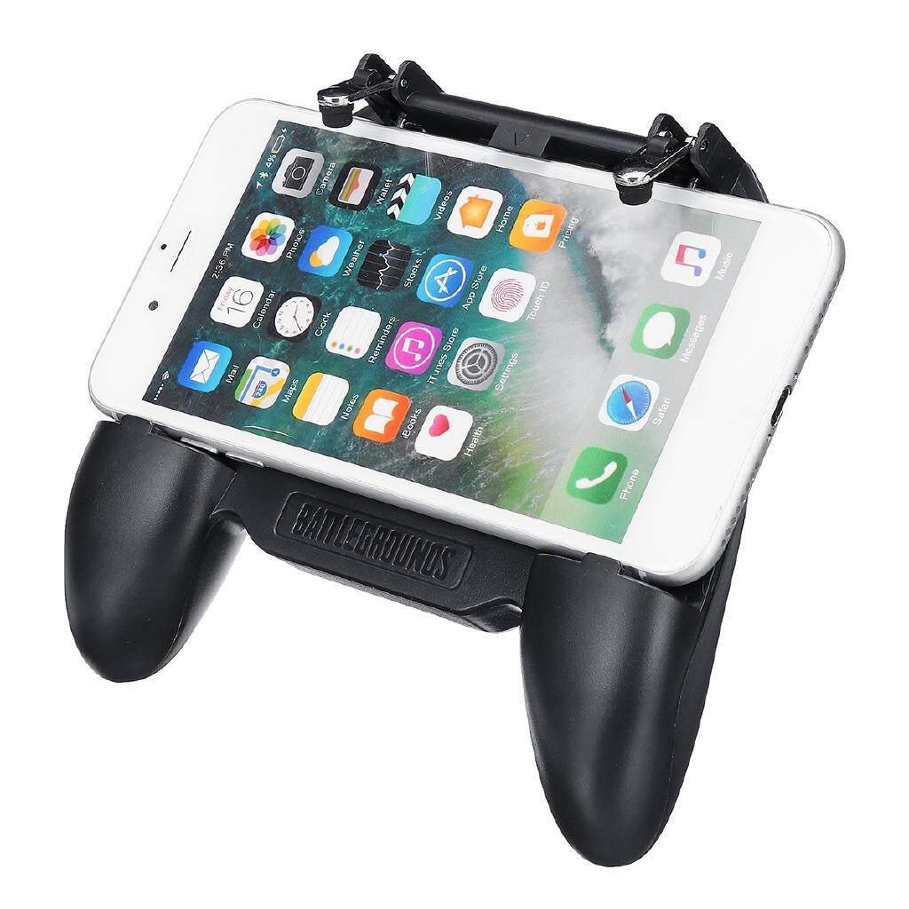 Mobile Phone Game Controller Joystick Cooling Fan Gamepad for PUBG Android  IOS - H5 / 2000MAH / 4000MAH