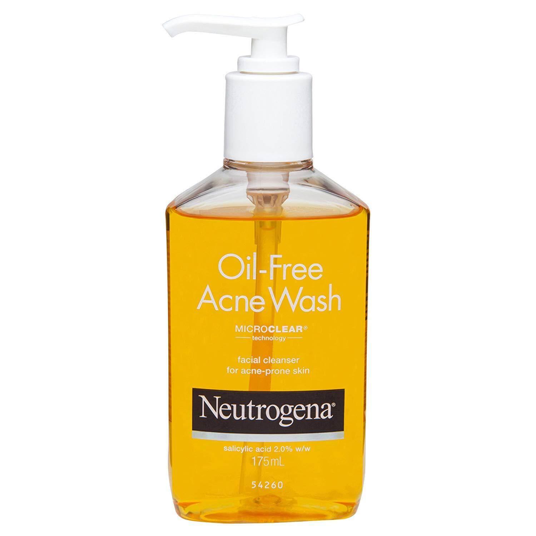 Neutrogena Oil-Free Acne Face Wash With Salicylic Acid, 175ml