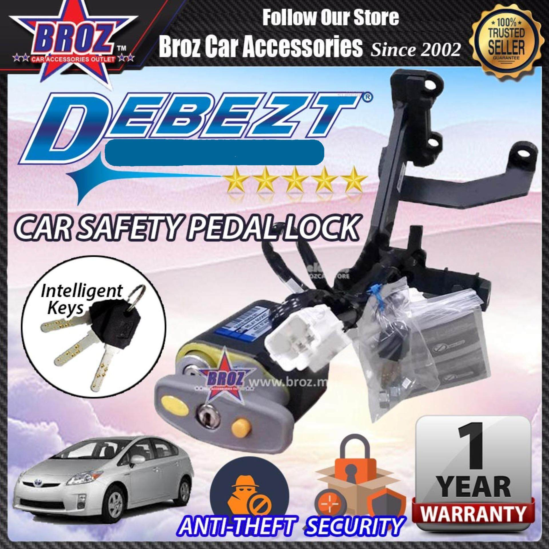 Prius 2012-2016 Debezt Auto Push Start Anti Theft Double Pedal Lock