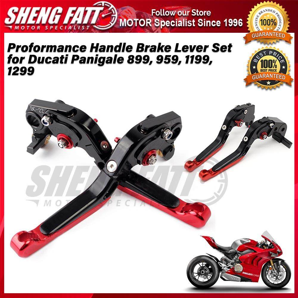 Proformance Adjustable Folding Extendable Brake Clutch Levers for Ducati Panigale 899, 959, 1199, 1299