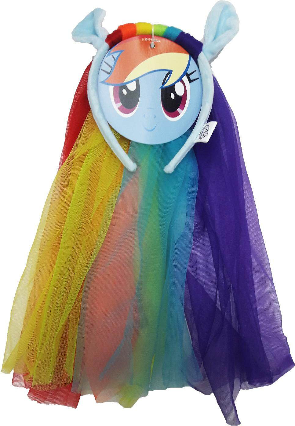 My Little Pony Headband with Tulle Veil