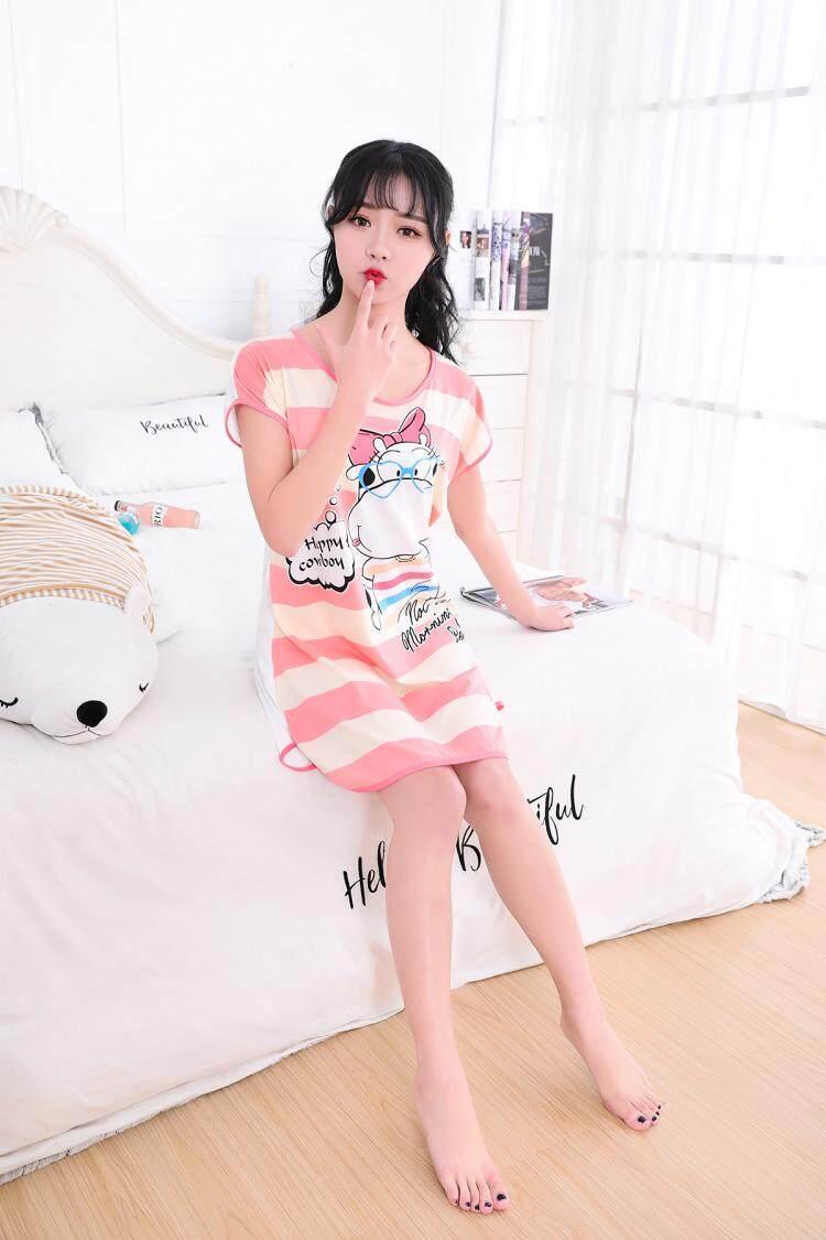 【LIMITED & READY 4 YOU】New Fashion Cute Cartoon Design Women Dress Pyjamas With Quality (Size: One Size)
