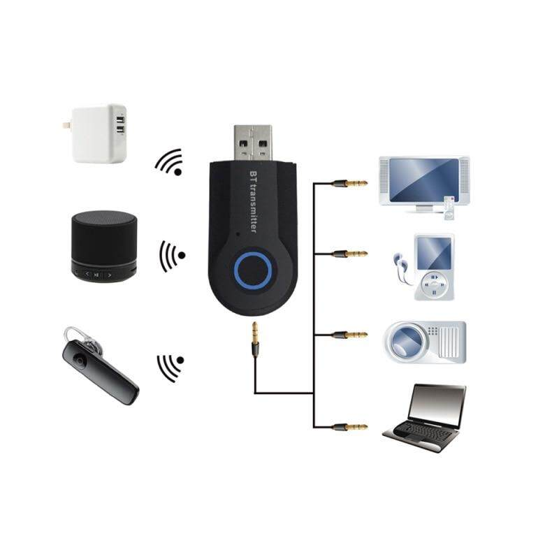 WIRELESS USB BLUETOOTH 4.0 Dongle Audio Receiver Transmitter For PC Universal - BLUETOOTH V4.0