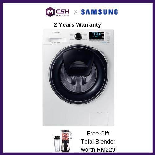 Samsung Front Load Washer with AddWash 10.5kg WW10K6410QW/FQ