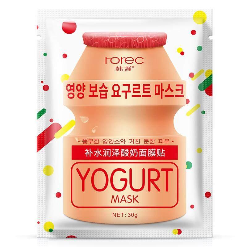 ROREC Yogurt Replenishment Moist Facial Mask