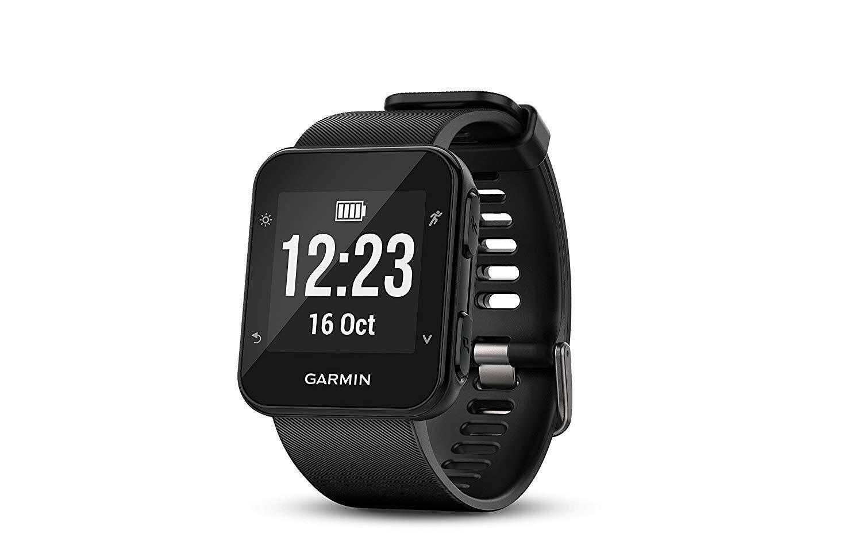 ยี่ห้อนี้ดีไหม  ขอนแก่น Garmin Forerunner 35  Easy-to-Use GPS Running Watch  Black