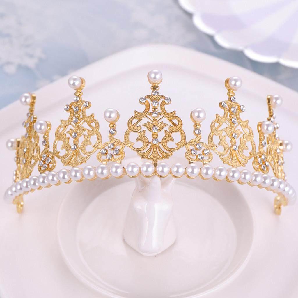 ... Mahkota Elegan Penuh Zircon Gemuruh Hiasan Kepala Anting-anting Ikat Kepala Perhiasan Perempuan 2019 Penjualan