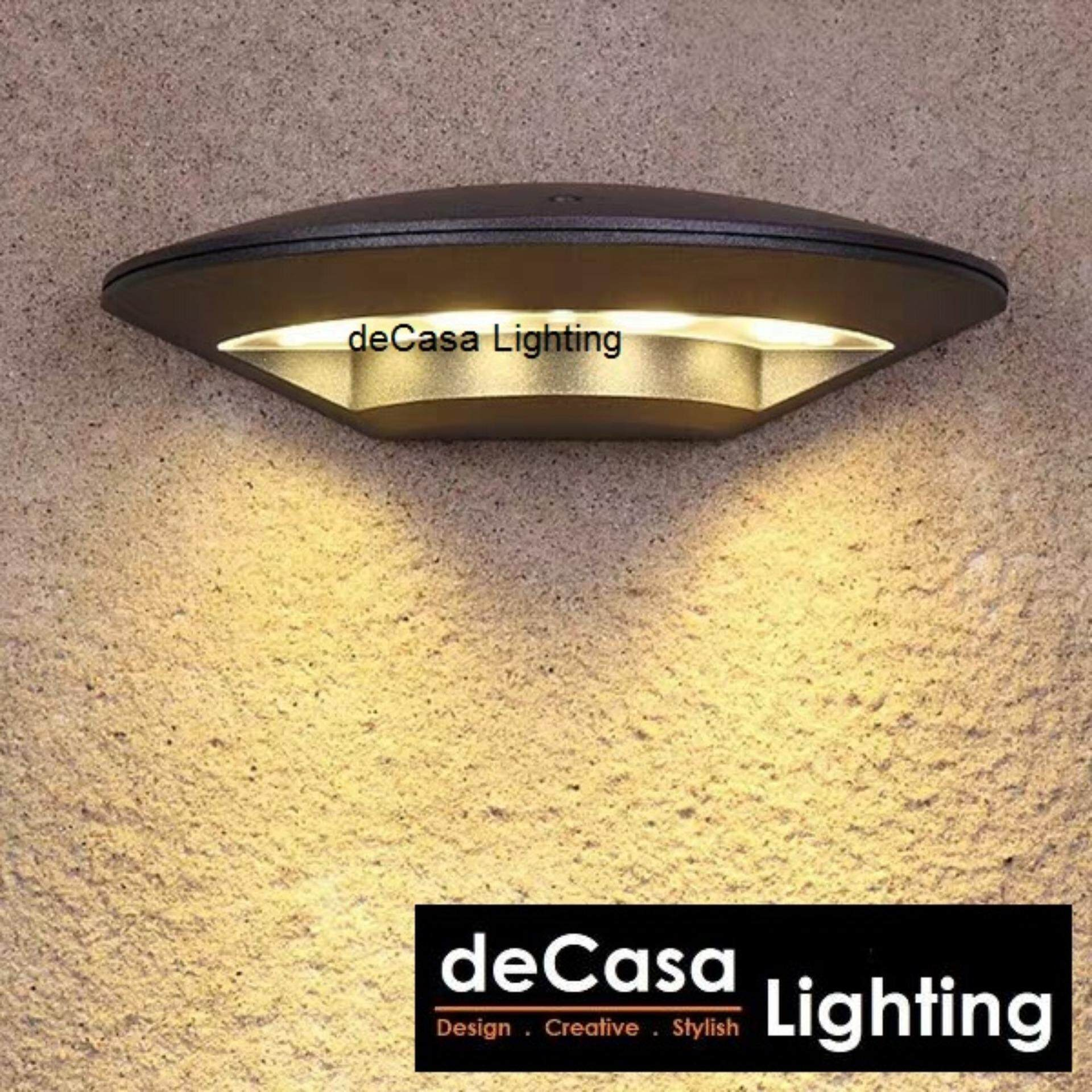 Led Outdoor Wall lights Best Seller wall decorative Outdoor wall lights DECASA Outdoor Weather proof (OD-W3394/4W-SG)