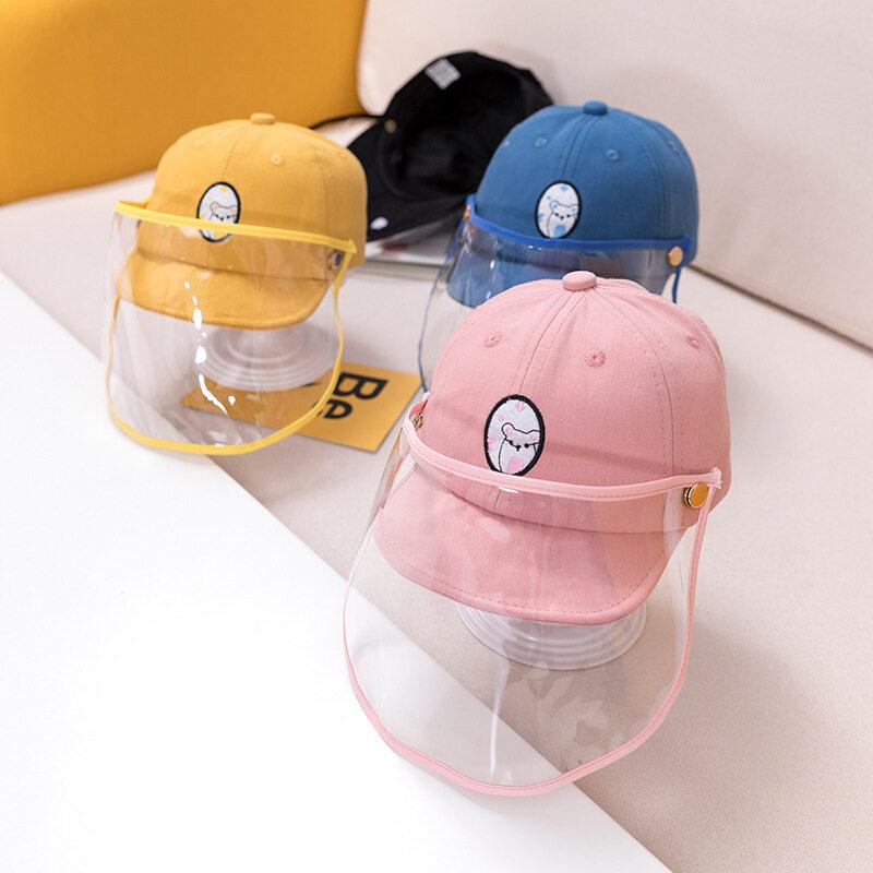 หมวกเบสบอลกันหยดน้ำสำหรับเด็ก3-24เดือน,หมวกแก๊ปป้องกันใบหน้าหมวกกันแดดสำหรับเด็กเล็กเด็กผู้ชายเด็กผู้หญิง