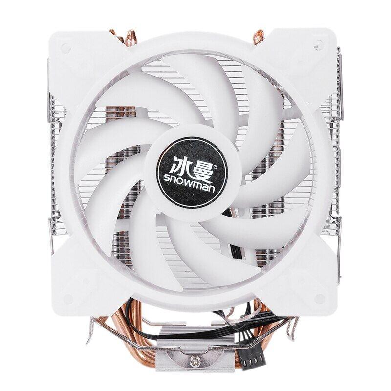 Đầy Màu Sắc Quạt Đèn LED CPU Điều Khiển Bộ Phận Làm Mát 4 Trực Tiếp Liên Hệ Với Heatpipes Đóng Băng Tháp Làm Mát Hệ Thống CPU Quạt Tản Nhiệt