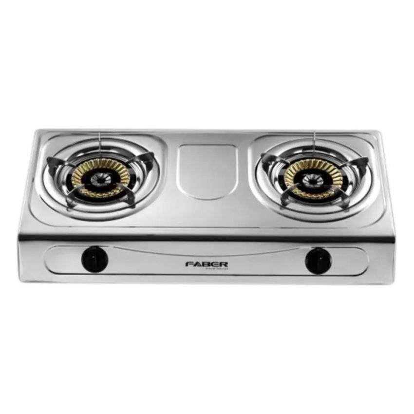 Faber 2 Burner Stainless Steel Gas Cooker FS 1222