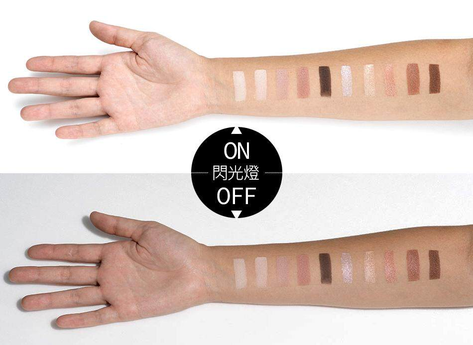BeautyMaker Duo Texture Nude Color Eyeshadow Palette