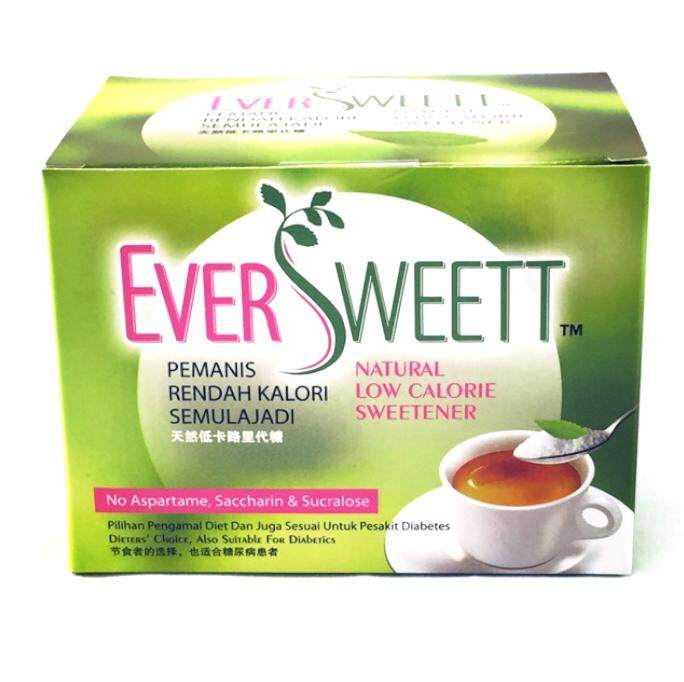 EVERSWEET NATURAL LOW CALORIE SWEETENER 50's