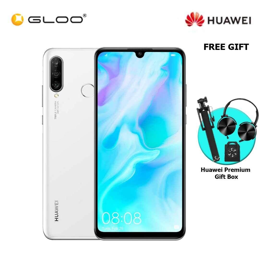 Huawei Nova 4E 6GB+128GB White + FREE Premium Gift Box (Headset/Selfie Stick/iRing)