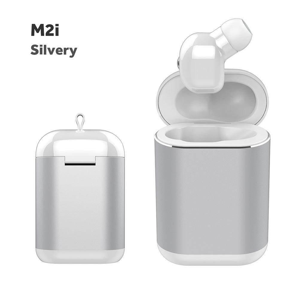 Chiants บลูทูธ 5.0 M2i MINI หูฟังหูเดียวพร้อมถังช่องไร้สายขนาดเล็กที่มองไม่เห็นมือฟรีขับรถ, สำหรับ Xiaomi,Apple,VIVO,OPPO,Samsung,Huawei,Redmi