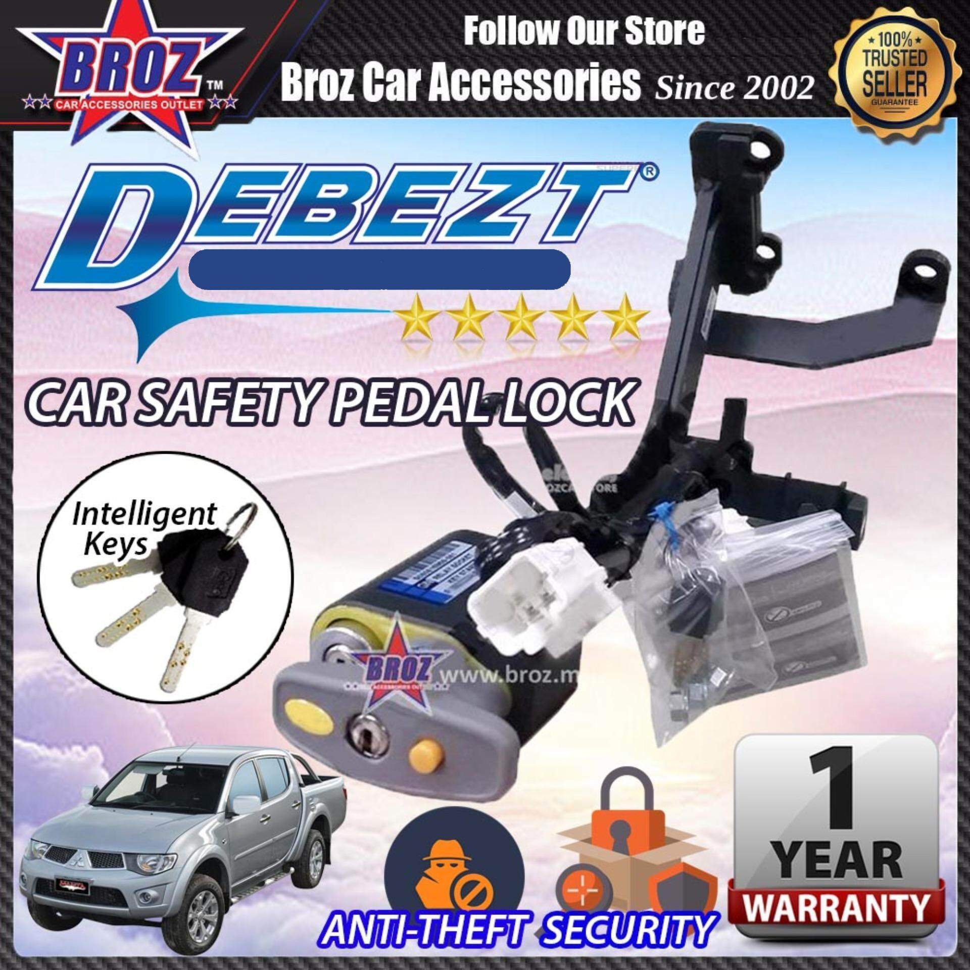 Triton 2006-2014 Debezt Auto/Manual Key Start Anti Theft Double Pedal Lock