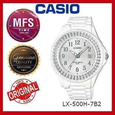 (2 YEARS WARRANTY) CASIO ORIGINAL LX-500H-7B2 SERIES YOUTH ANALOG-LADIES WATCH