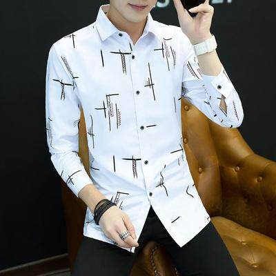 JYS Fashion Korean Style Men Long Sleeve Blouse Collection 393- 8855