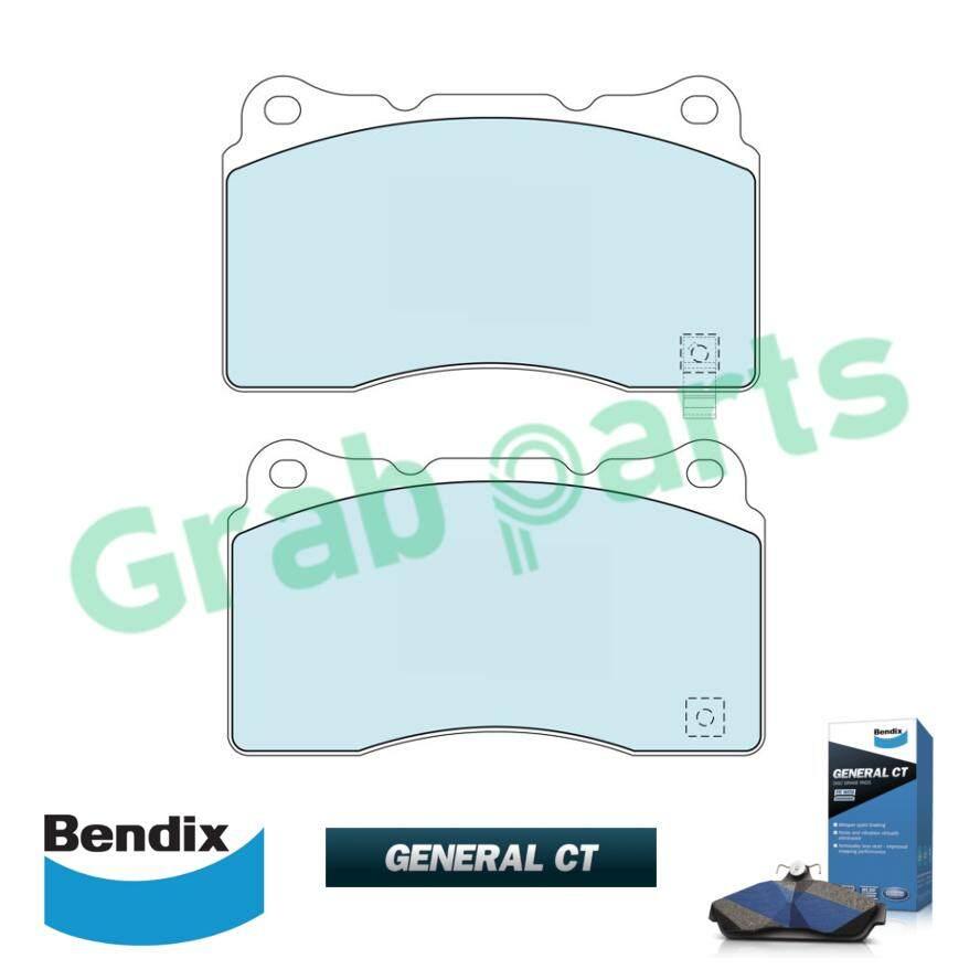 Bendix General CT Disc Brake Pad Front for DB1678 Mitsubishi Evolution 5 6  7 8 10 (Brembo)