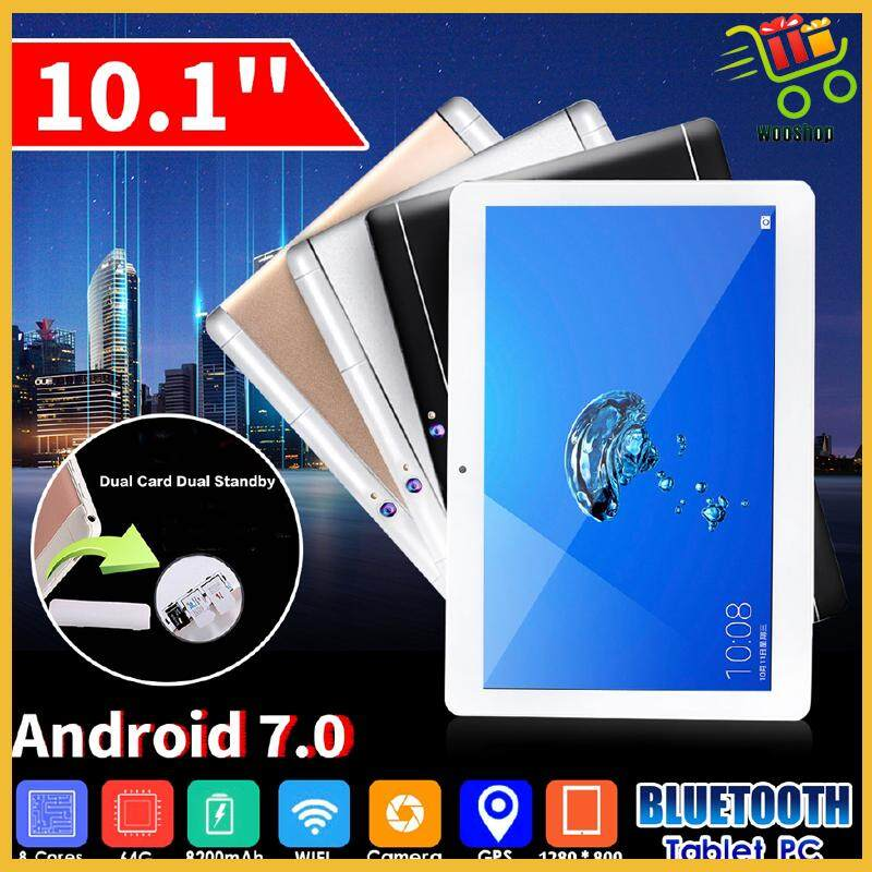 BLUETOOTH 64GB Android 7.0 Octa Core HD WIFI 2 SIM 4G 10.1\'\' Tablet PC 4 Colour - ROSE GOLD / GOLD / WHITE / BLACK