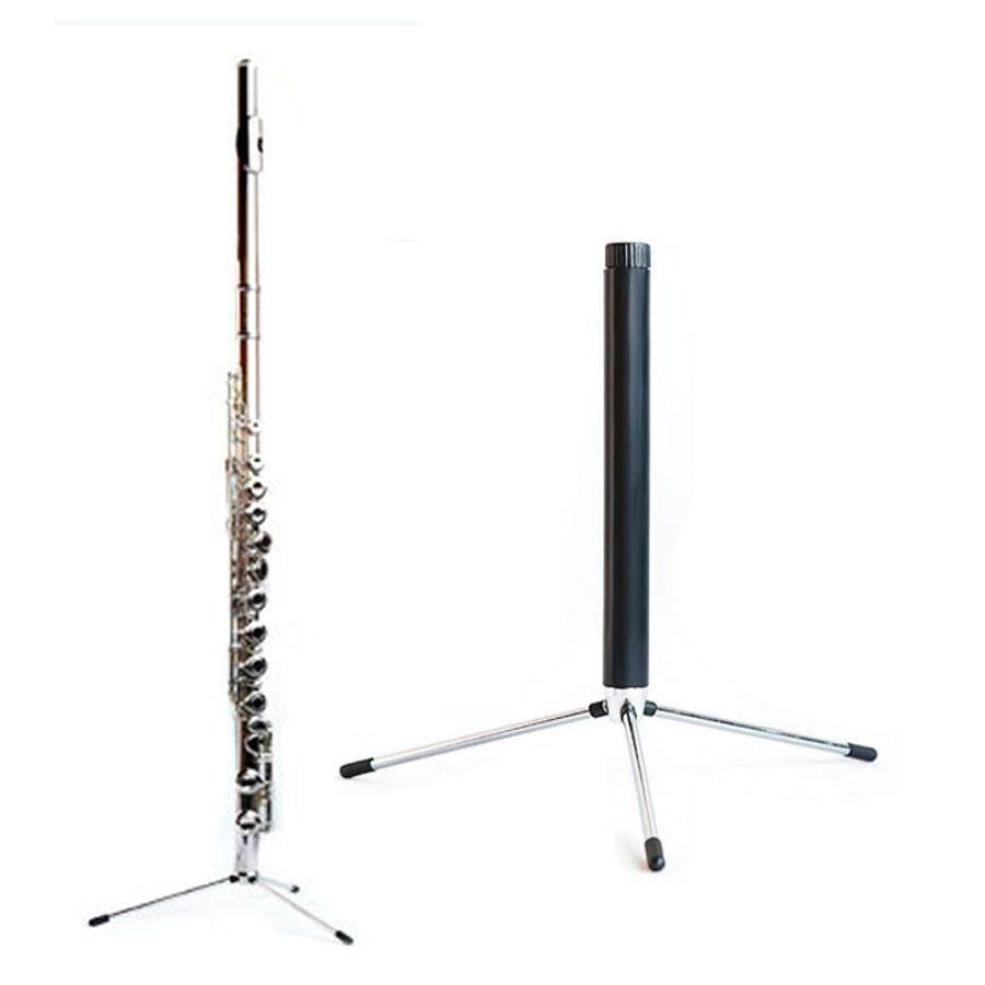 SOU Western Concert Tripod Oboe Flute Clarinet Sax Wind Folding Black Tube Bracket Shelf Vertical Bracket Portable Instrument Bracket Accessories