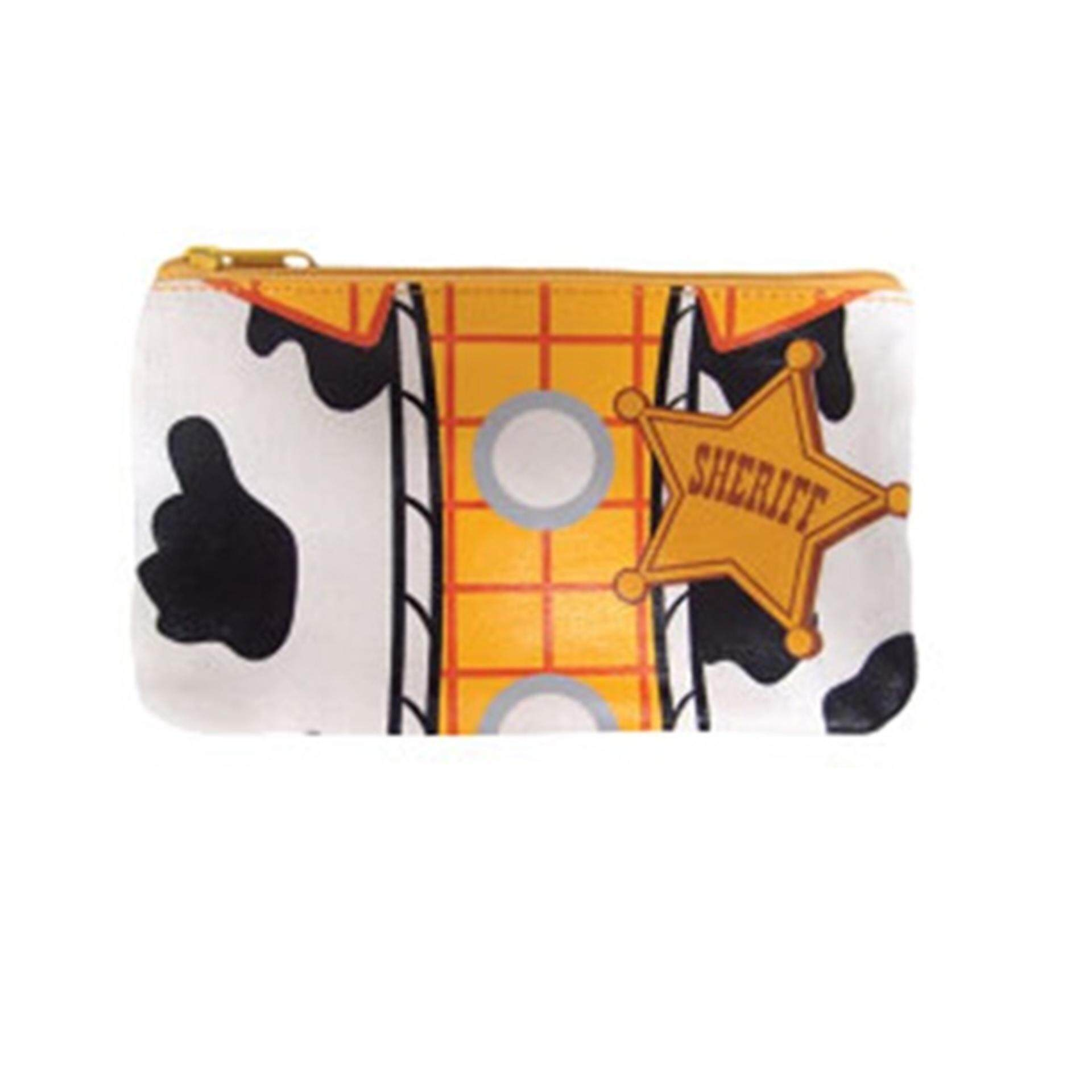 Disney Pixar Toy Story 4 Woody Canvas Pouch - Multicolour