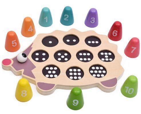 Numbers Hedgehog Balance