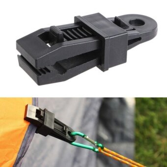 10pc Tarp Clips Clamp Awning Set Car Boat Cover Tent Tie DownEmergency Snap - 2