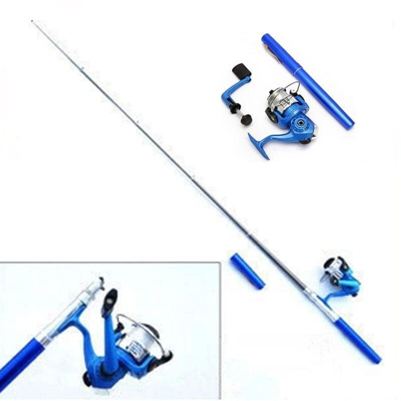 1.4m Portable Telescopic Fishing Rod Ultralight Mini Travel Fishing Tackle Stream River Sea Rod