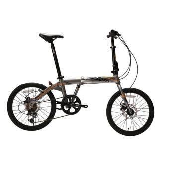 20 Java Tt2 7 Speed Alloy Folding Bike Titanium Lazada Malaysia