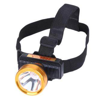 Harga 3000LM Headlamp LED Headlight Rechargeable Flashlight Head TorchLamp
