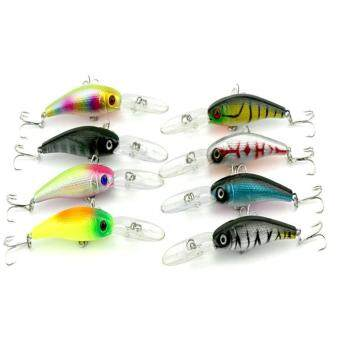360DSC Classic Minnow Hooks Plastic Fishing Lures Baits Crankbait 10cm / 7.8g