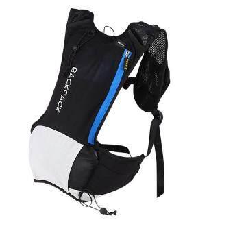 360DSC Tuban Unisex Ultrathin Cycling Hiking Shoulder Bag Water Bladder Bag Hydration Backpack Water Pack Bag - Black