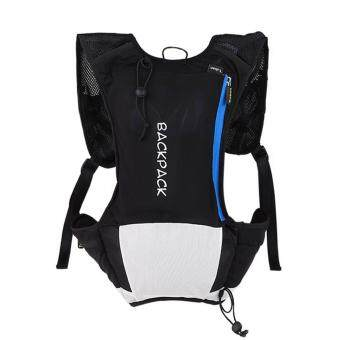 360DSC Tuban Unisex Ultrathin Cycling Hiking Shoulder Bag Water Bladder Bag Hydration Backpack Water Pack Bag - Black