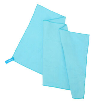 75*130cm Microfiber Quick Drying Towel Compact Travel CampingSwimming Beach Bath Body Gym Sports Towel Blue - 2
