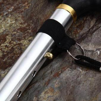 Adjustable Foldable Walking Trekking Hiking Stick Cane CrutchAlpenstock - 5