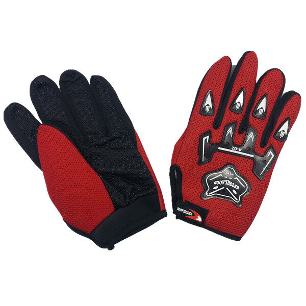 AFGY FGB 082 Cycling Full Finger Gloves Motorcycle Racing Outdoor Sports - Red