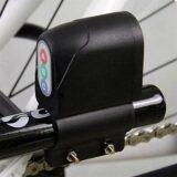 Harga Termurah Allwin Sepeda Bersepeda Alarm Keamanan Kata Sandi Tahan Air Anti Pencurian Kunci Hitam