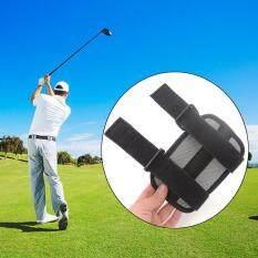 Ulasan Lengkap Allwin Golf Swing Postur Siku Brace Corrector Panduan Pelurusan Dukungan Pelatihan Alat Hitam Intl